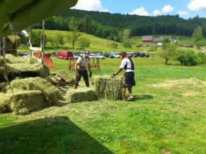 Hay Bail Challenge