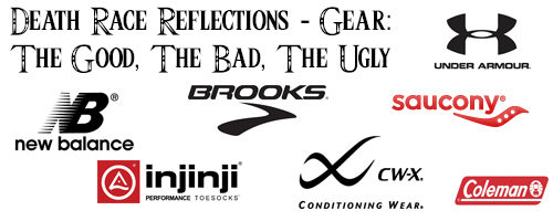 Death Race Reflections – Gear: The Good, The Bad, The Ugly