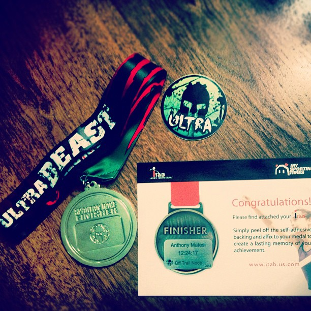 iTab Giveaway - Spartan Race Medals | Legend of the Death Race