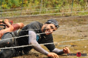 Ultra Beast Barbed wire obstacle race