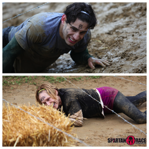 indiana spartan race obstacle race barbwire