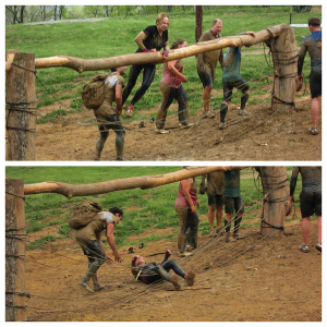 spartan indiana race sprint obstacle race fall