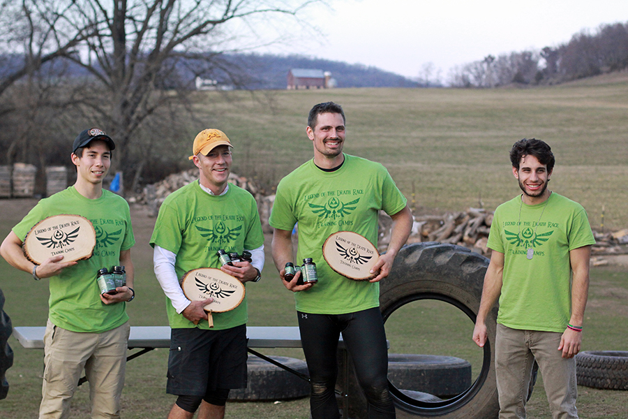 Top 3 Finishers LotDRTC Innerzyme We Plaque