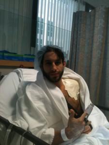 shoulder surgery torn labrum full repair