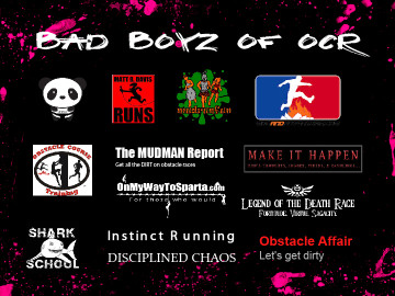 obstacle race calendar 2013 men of ocr bad boyz of ocr