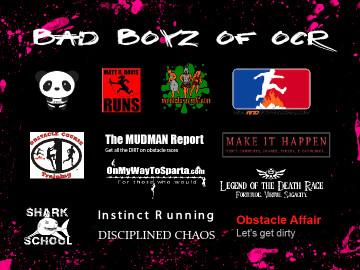 obstacle race calendar 2013 men of ocr bad boyz of ocr
