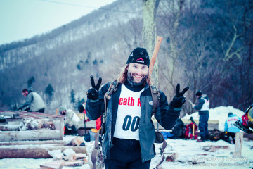winter death race finisher mark webb