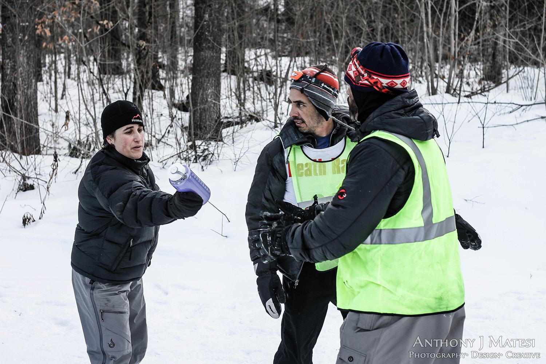 volunteer crew help winter death race