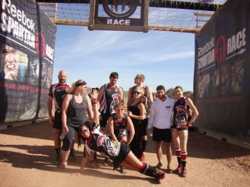 Reebok Spartan Race, Corn Fed Spartans, Reach Boxing, Obstacle Race, Vegas, Sparatan