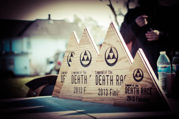 Spartan Death Race Finishers of Legend of the Death Race Adventure Race Peak DR Training Events