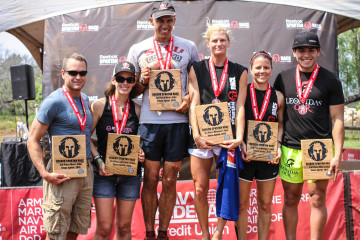 Podium Elite Heat Sunday Texas Spartan Race Obstacle Race Sprint