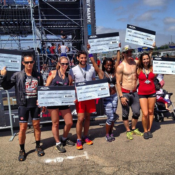 Alpha Warrior Ninja Warrior Obstacle Race San Diego Finishers Podium Top 3