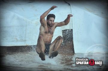 Super Slip and Slide Spartan Race Tony Matesi