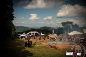 Spartan Race Virginia Wintergreen Resort Finish Line Super Spartan