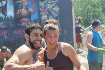 Mariah Matesi Anthony Matesi Spartan Race Midwest Super Spartan