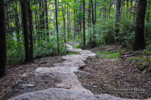 pittsfield vermont stone stairs death racer built staircase