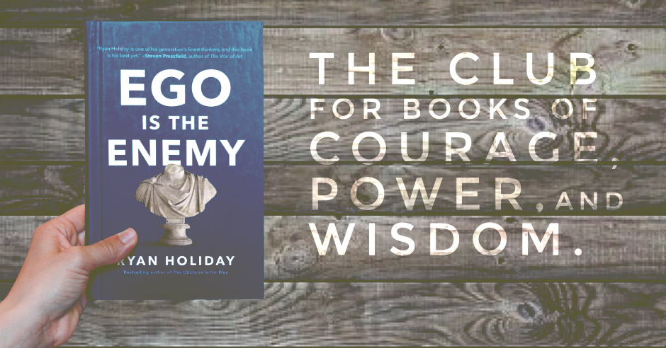 Book Review: Ego is the Enemy by Ryan Holiday
