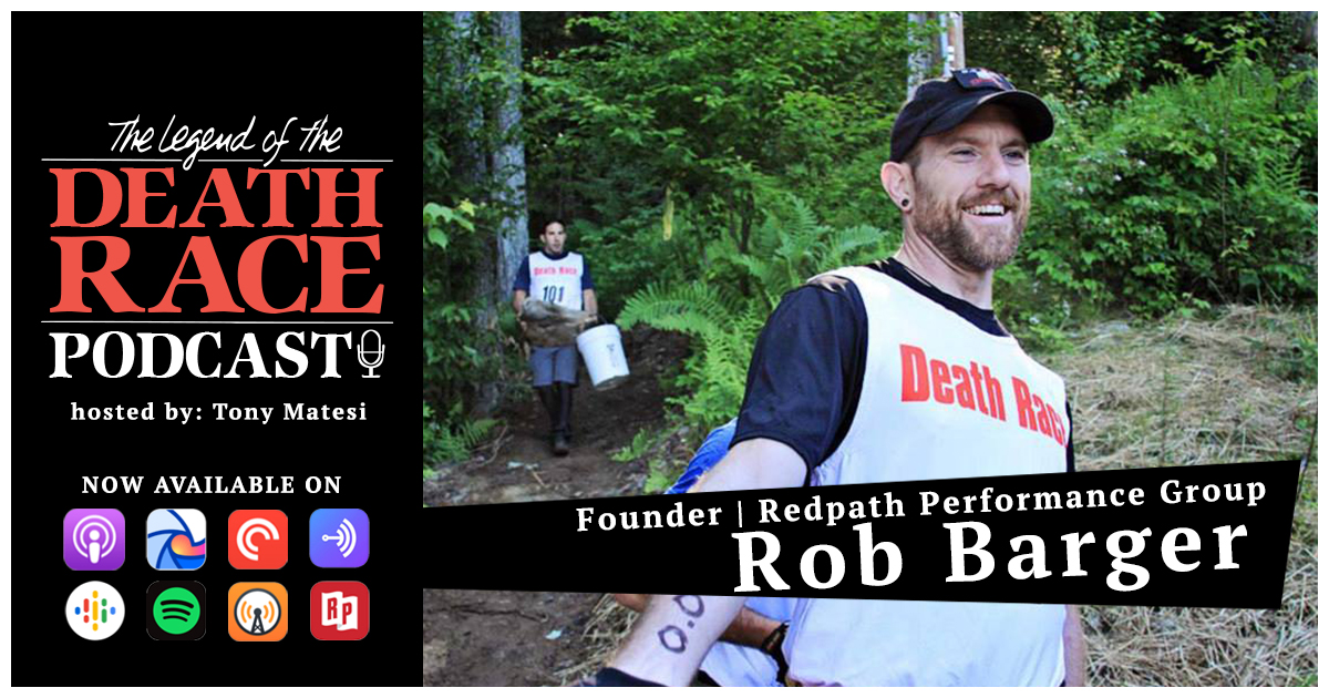 Go. Do. That is All Rob Barger Does – Founder Redpath Performance Group | LotDR Episode 003