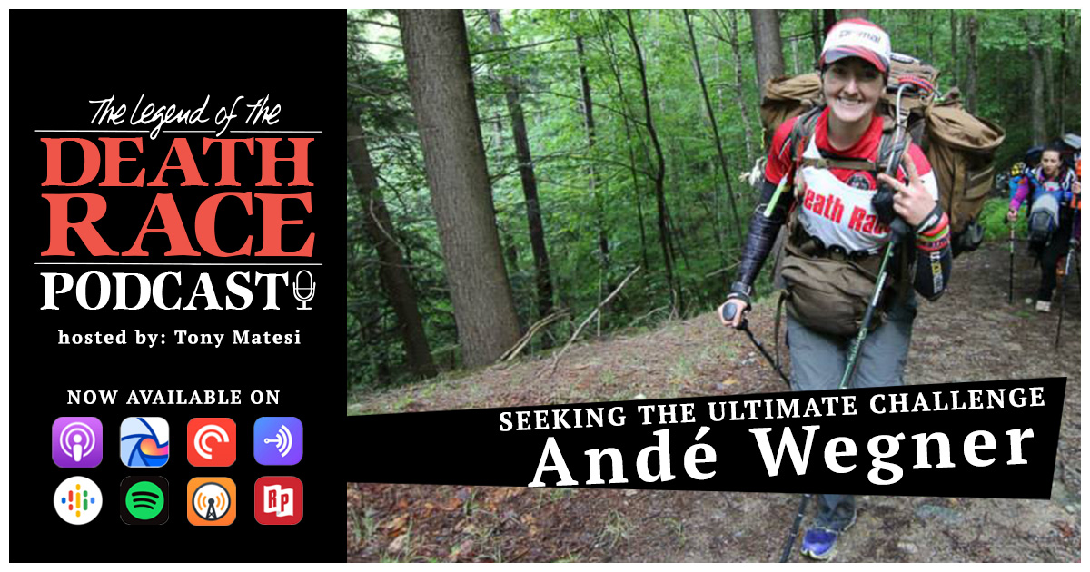 Seeking the Ultimate Challenge – Andé Wegner | LotDR Episode 011
