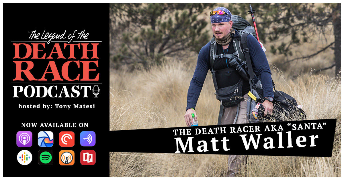 "The Death Racer AKA ""Santa"" Matt Waller 