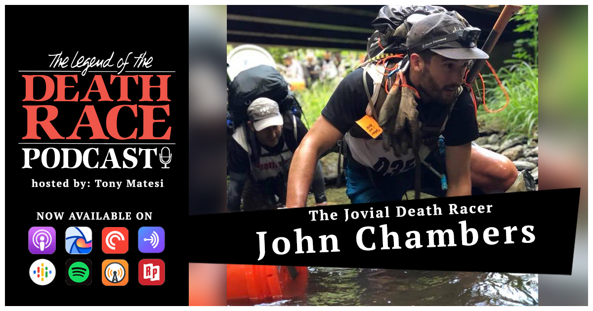 The Jovial Death Racer – John Chambers | LotDR Episode 040