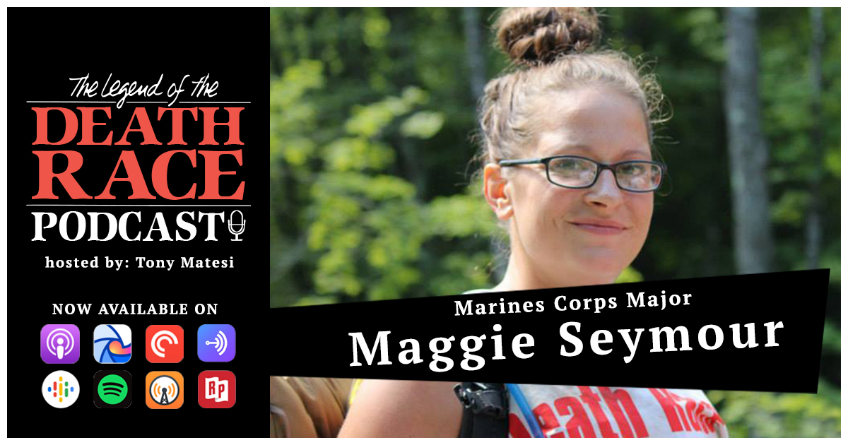 Marine Corps Major Maggie Seymour | LotDR Episode 044